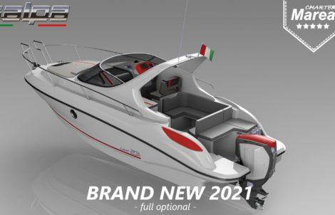Rent a Cruiser boat Salpa Laver 23 Croatia